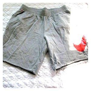 Nike sweatpants shorts